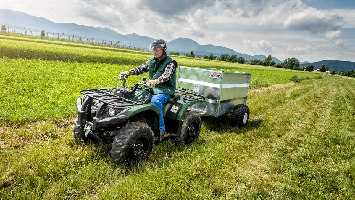 Yamaha Grizzly 450 Review